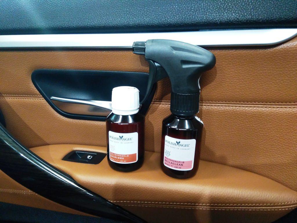 Autó bőrápolás