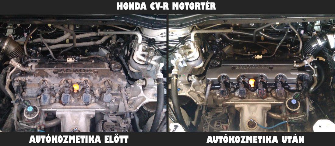 Honda cv-r motortér